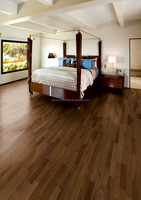 natural color UV oiled American black walnut Engineered wooden floor 4mm top layer