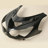 Unpainted Black ABS Upper Front Fairing Cowl Nose For Kawasaki Ninja ZX14R 12-13