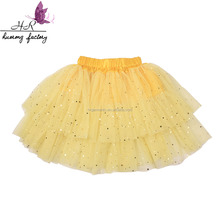 Summer Boutique Baby Dance Tutu Skirts Chiffon Pettiskirt Tutu Pettiskirt Fluffy for Girls Layered Tulle Skirt