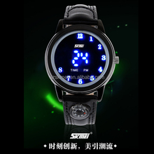 Hot Selling!!!Flashing Light Quartz Type Kids Led Watch