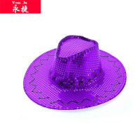 purple cowboy hat