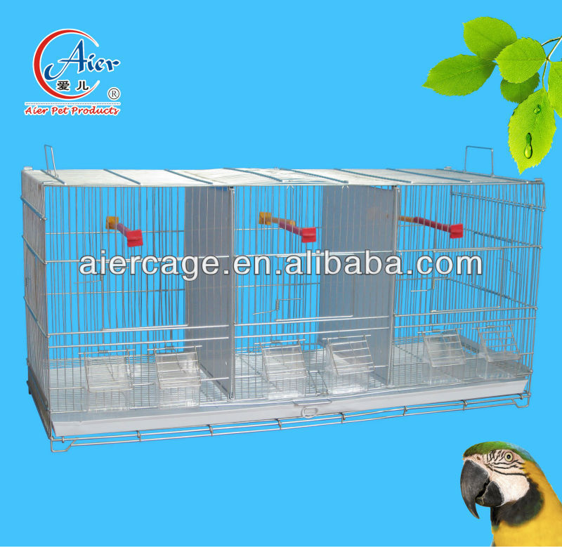 metal breeding bird cages with dividers