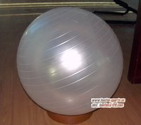 pearl white Gym ball