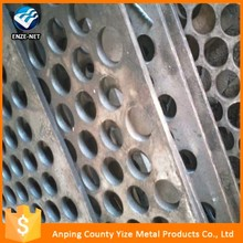 China factory 5mm Thick Stainless Steel Perforated Sheet/perforated metal walkway (manufacturer)