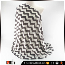 Wholesale infinity chevron breastfeeding nursing cover