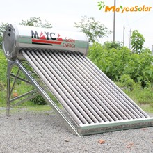 Evacuated Tube Non-pressurized Solar Water Heater