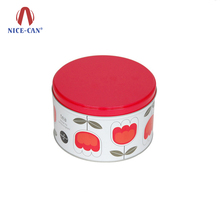 Nice-can Portable Cosmetic Cream Packing Aluminum Metal Jar Container Custom Wholesale Cute Small Round Empty Cosmetic Tin Box