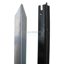 cheap price black coated steel Fence Post galvanized Y Shaped star picket