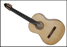 yunzhi handmade maple wood flattop electric classical guitar