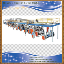 Alibaba China supplier 3/5 layer full automatic corrugated cardboard production line