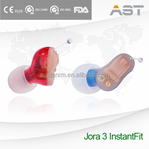 Micro Standard Digital In-The-Ear Hearing Aid CIC Battery Size 10A
