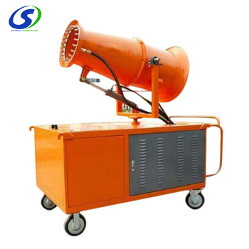 Remote control coal dust control fog machine widely used in south Africa