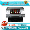 China manufacture 2 din Car stereo radio audio dvd gps mp3 3g multimedia system for Citroen C4