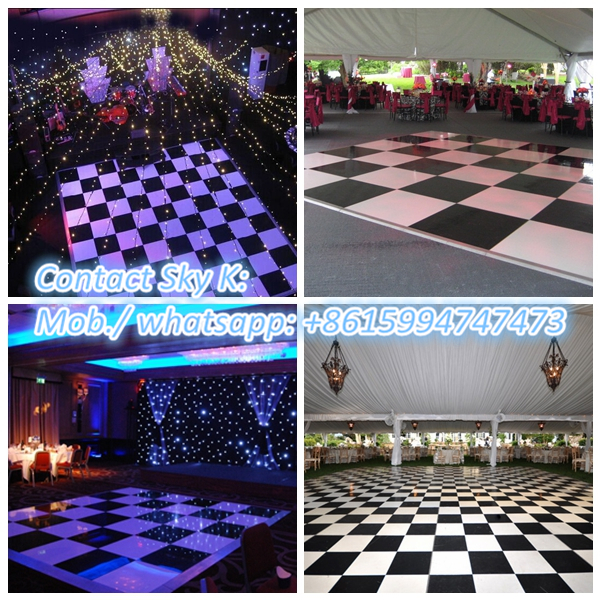 most popular electronics new effect led acrylic dance floor/led portable dance floor