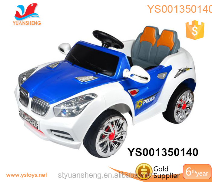 Remote control rechargeable ride on kids electric plastic big toy car for big kids