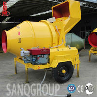 JZC350 Mobile Concrete Mixer for Sale Portable Concrete Mixer