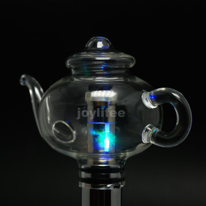 2014 Newest Wax Globe Tea Pot Globe Ceramic Atomizer Vaporizer Glass Teapot Dry Herb Clearomizer Kit 510 Thread Tank Vaporizer
