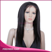 Best selling products yaki full lace wig silk top wholesale cheap glueless silk top full lace wig with baby hair