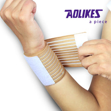 Elastic wrist support belt