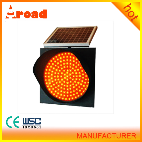 Mutcd Standard Aluminium LED Flashing Alto Solar Road Traffic Sign