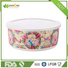 Bio-degradable Baby Bamboo Bowl bamboo fiber lunch box with cover