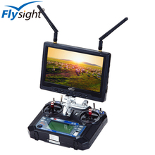 C211 Flysight Dual Receiver 5.8Ghz Mini FPV 1080p 7 inch LCD Monitor No Blue Screen with HDMI