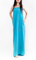 strapless long maxi light blue dresses for wholesale