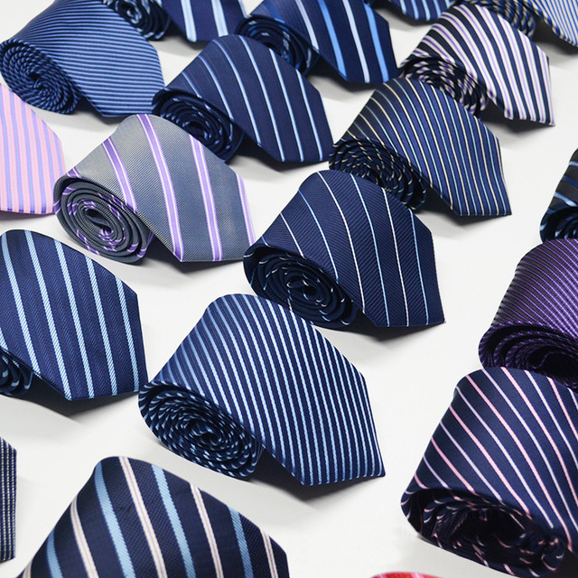 Wholesale High Quality Customized Logo Jacquard Woven Polyester Neckties