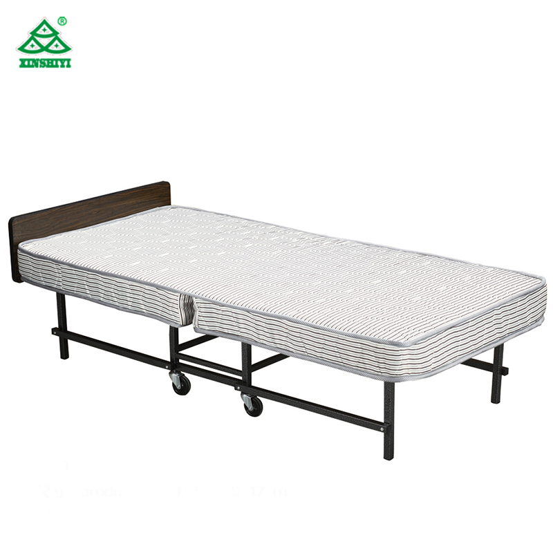 Resorts Metal Foldable Guest Room Hotel Foldable Bed/Folding Rollaway Bed