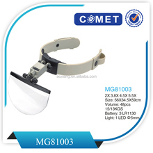 LED lamps light head Magnifier glass Loupe/electronic loupe magnifier magnifying glass