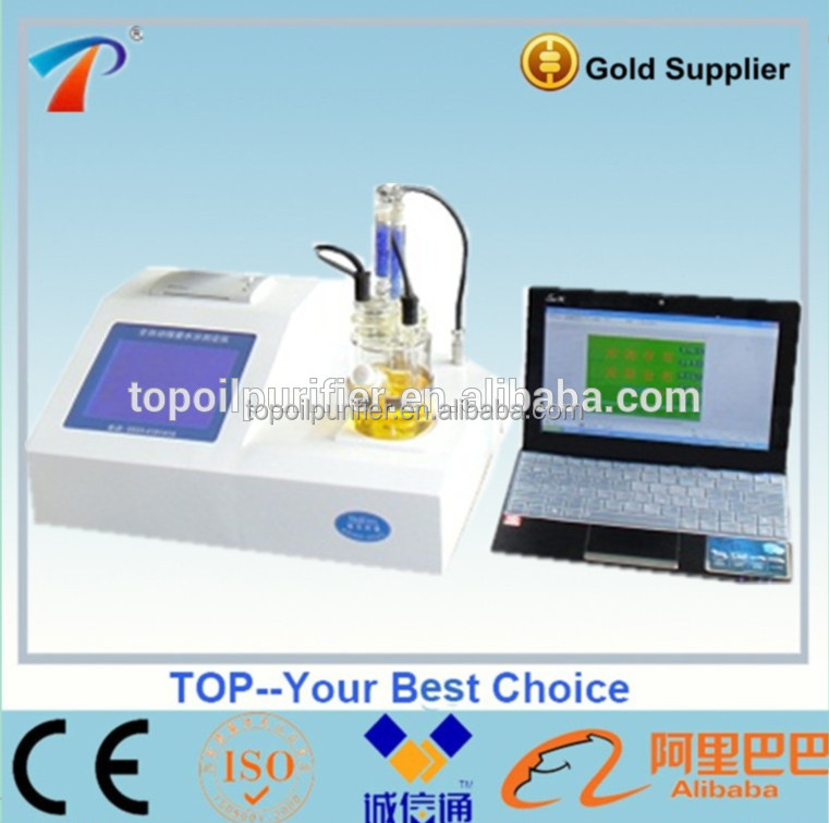 TP-2100 automatic KarlFisher testing oil water content kit