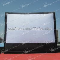 custom made inflatable tv screen