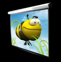 Shenzhen factory cheap price 150 inch projection screen