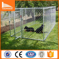 ISO 9001 dog kennel cage stainless steel / pet cages dog kennel