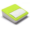 New design sticky box with mobile stand