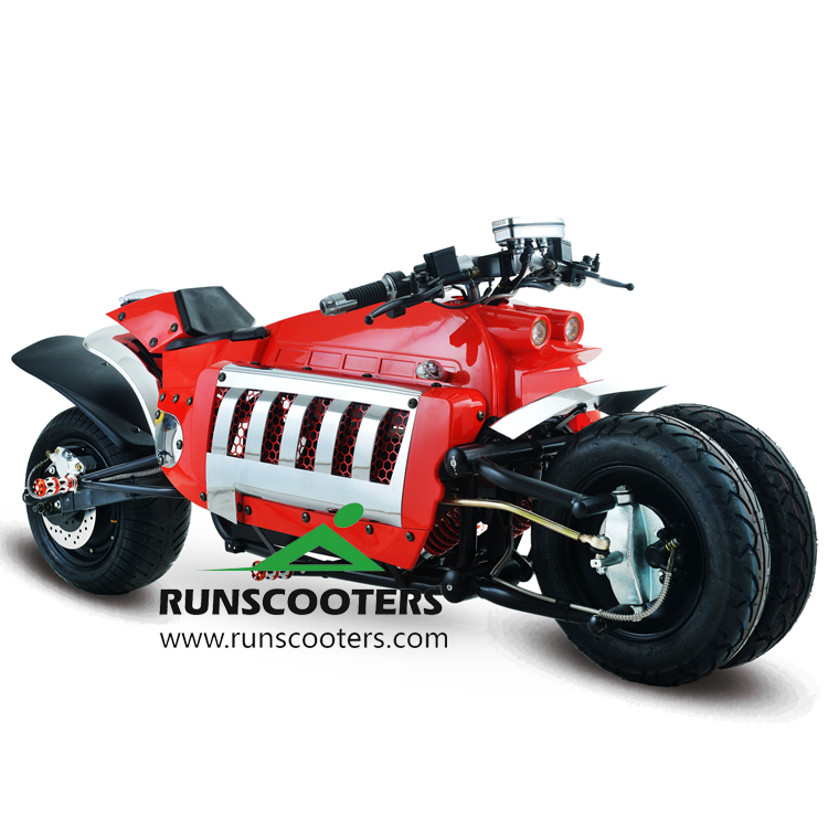 RUNSCOOTERS 2018 new electric Dodge Tomahawk three wheels big tire citycoco motorcycle