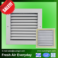 hvac system aluminum electric contact grill