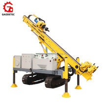 Track Jet Grouting Ground Anchor Drilling Machine