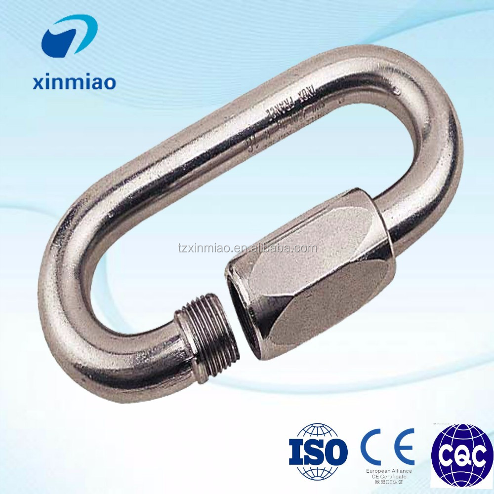 new triangle/oval/round quick link snap hook with lowest price