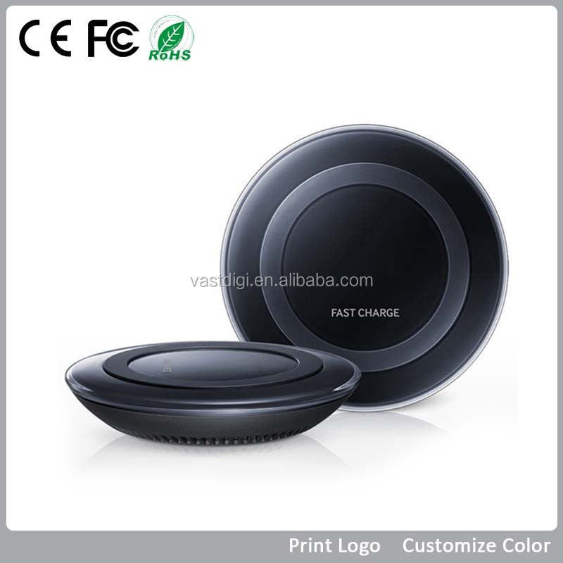2016 UFO shape QI Wireless Charger and power bank VPW-009 custom logo gift