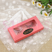 Wholesale Factory Price New Arrival High Quality Natural 100% Real 3D Mink Eyelashes Strip False Eyelashes