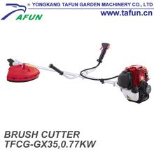 China and mini new design nylon line grass trimmer with four stroke and air cooled