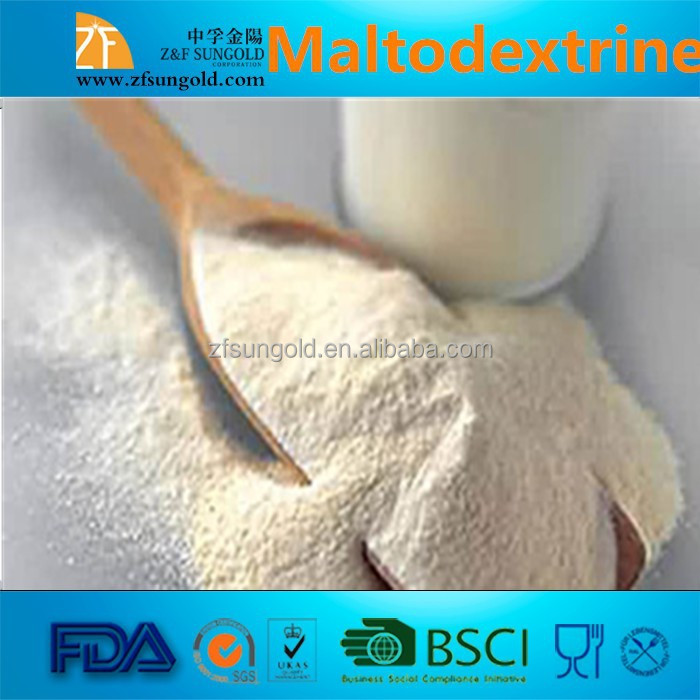 high quality maltodextrin KOSHER and Halal Certificated Sweetener food grade maltodextrin for milk powder