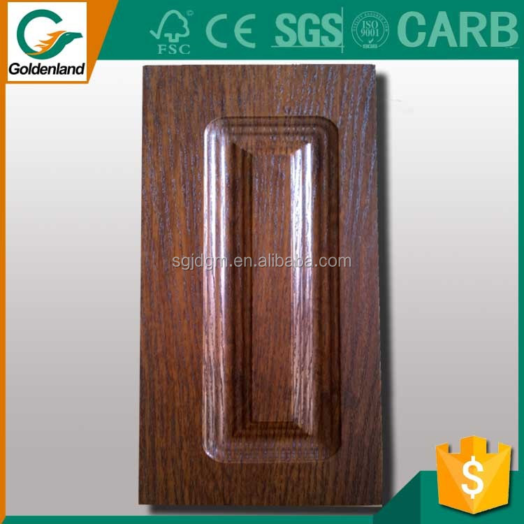 American style kitchen cabinet PVC blister door kitchen cabinets door