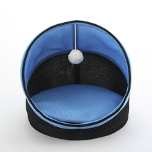 High Quality Breathable Cooling Cat Summer Bed With Cool Mat Foldable Pet Bed Dog Bed