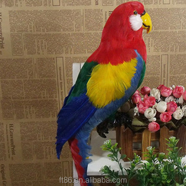 new for 2015 custom furry lifelike cute cheap items parrot souvenirs