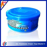 odorizant auto scents gel air freshener/50g solid car air fresheners car perfume gel air freshener gift