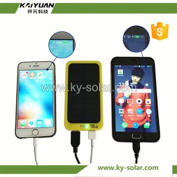 solar charger power bank portable quick charge mini