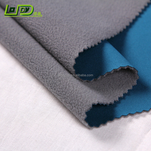 30D polyester spandex stretch knitted fabric+TPU lamination+polar fleece