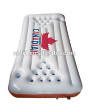 Inflatable cool pool float beer pong table raft game